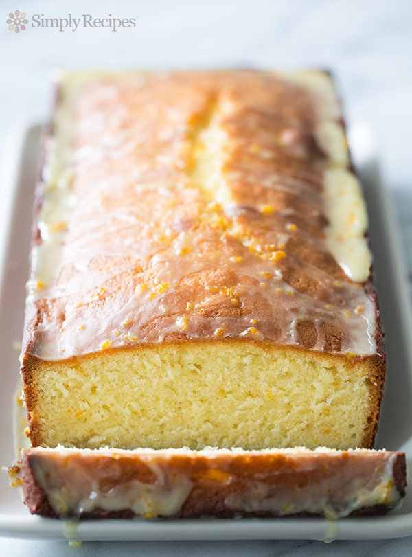 Almond Pound Cake with Orange Glaze (0001)
