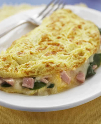 Spinach, Ham, & Cheese Omelet (0065)