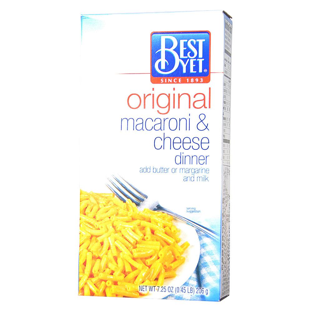 Bestyet Macaroni&Cheese Dinner(Original) 206g