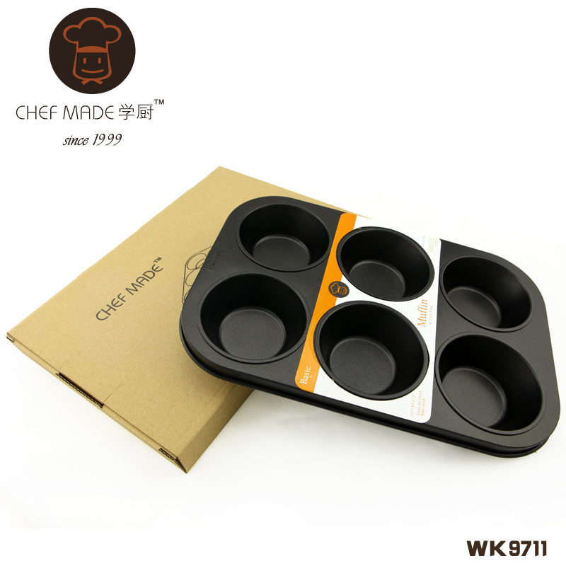 6 Cup Muffin Pan 285*195*30 - 2