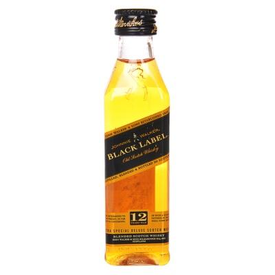 尊尼获加黑牌威士忌 50ml