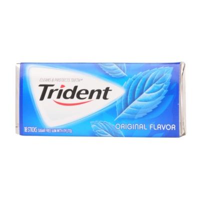 Trident Original Flavor Chewing Gum 18pcs