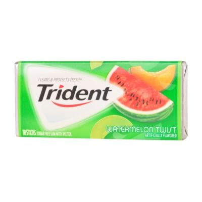 Trident Watermelon Chewing Gum 18pcs