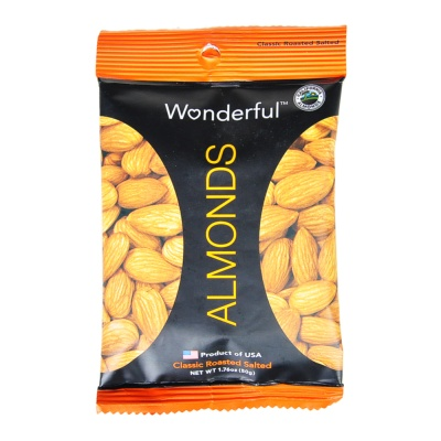 Wonderful Almonds(Classic Roasted Salted) 50g