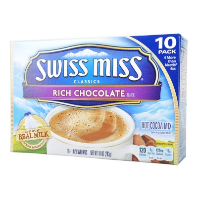 Swiss Miss Hot Cocoa Mix Rich Chocolate 283g