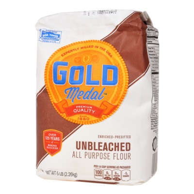 Gold Medal Unbleached Flour(For Bread) 2.26kg