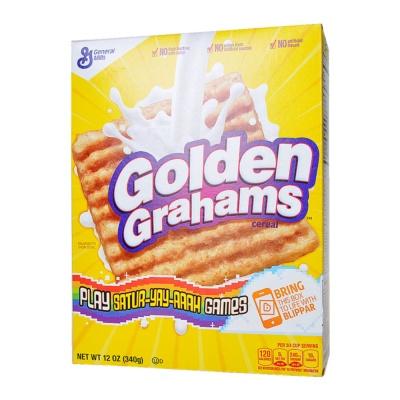 General Mills Whole Grain Golden Grahams Cereal 340g