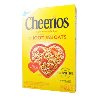 Cheerios Toasted Whole Grain Cereal 252g
