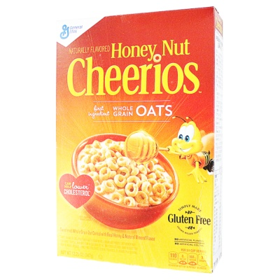 Cheerios Honey&Nut Whole Grain Cereal 347