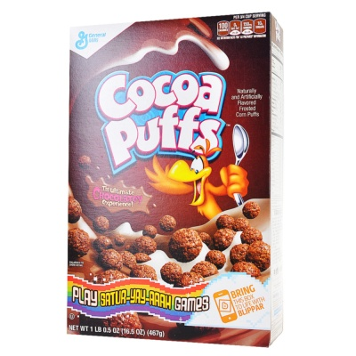 General Mills Cocoa Frosted Corn Puffs 467g