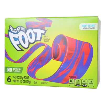 Fruit by the Foot Berry Tie-Dye Snack 128g
