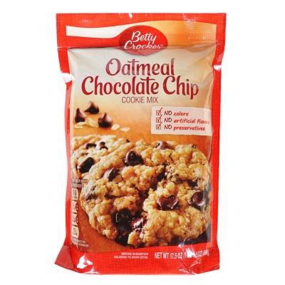 Betty Crocker Cookie Mix,Oatmeal Chocolate Chip 496g