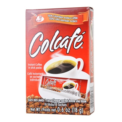 Colcafe Instant Coffee in Stick Packs 100g