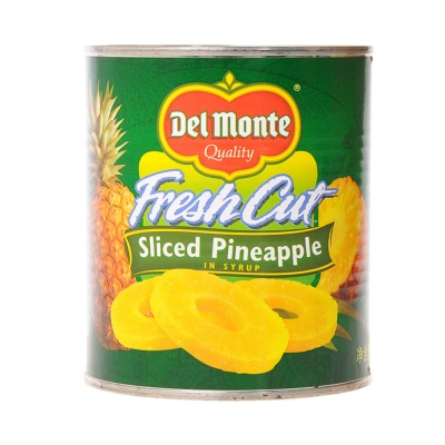 Del Monte Sliced Pineapple 836g
