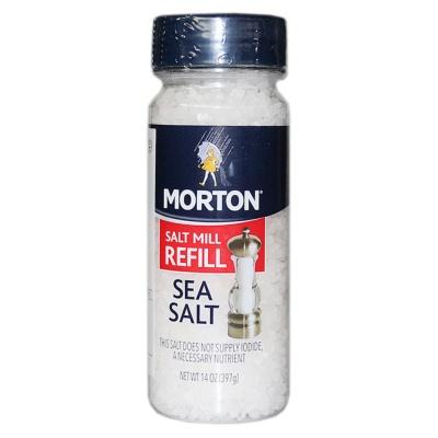 Morton Sea Salt Mill Refill 397g