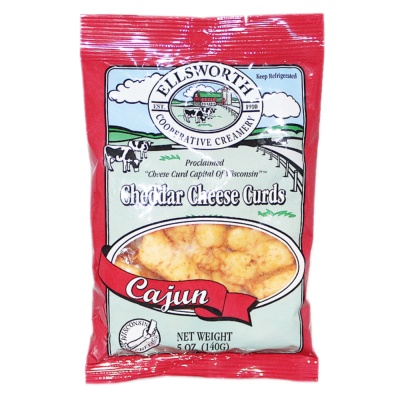 Ellsworth Cajun Cheddar Cheese Curds 140g