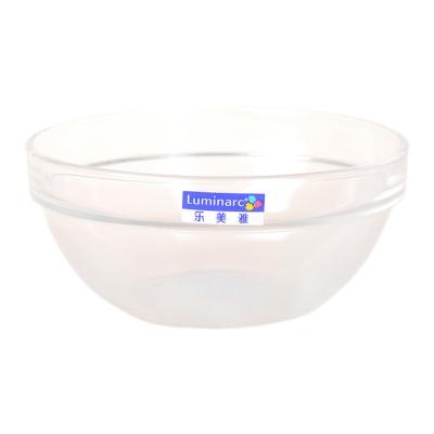 乐美雅透明可叠沙拉碗 14cm
