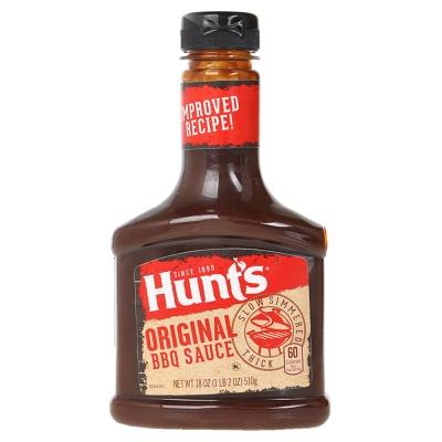 Hunt'S Original BBQ Sauce 510g