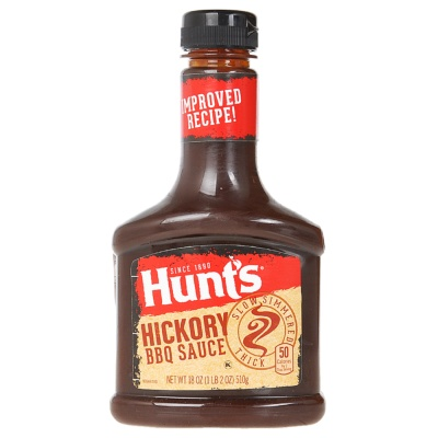 Hunt'S Hickory Bbq Sauce 510g