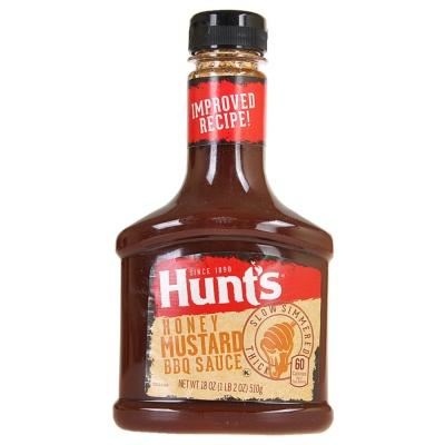Hunt'S Honey Mustard Bbq Sauce 510g