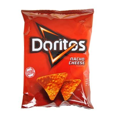 Doritos Nacho Cheese Flavored Tortilla Chips 92.1g
