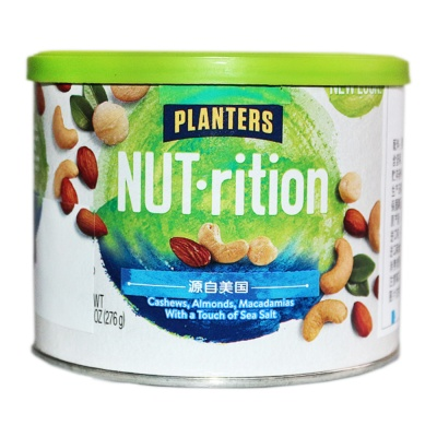 Planters Cashews,Almonds,Macadamias With a Touch of Sea Salt 276g