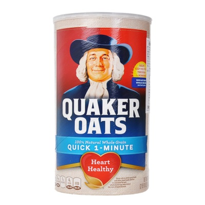 Quaker 100% Natural Whole Grain Oats 1.19kg