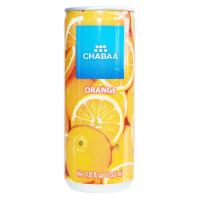 Chabaa Orange Juice Drink 230ml