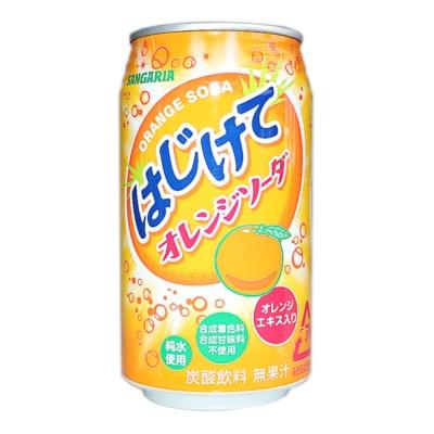 三佳利橙子碳酸饮料 350g