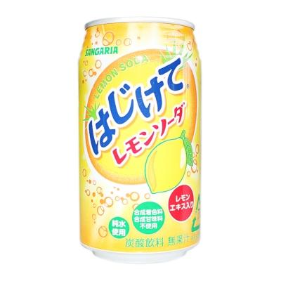 Sangaria Feeling Refreshed Lemon Soda Drink 350g