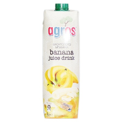 Agros Banana Juice Drink 1L