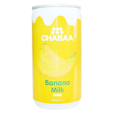 Chabaa Banana Milk Flavor Drink 170ml