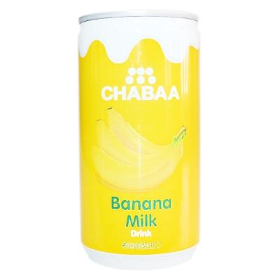 Chabaa Banana Milk Flavor Drink 170ml