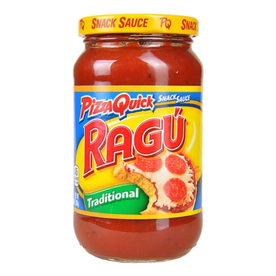 Ragu Pizza Quick Snack Sauce Traditional 397g
