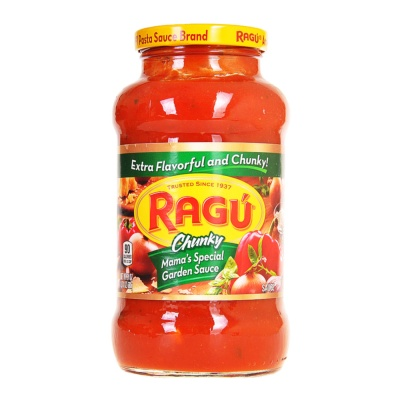 Ragu Chunky Mama's Garden Pasta Sauce 70g