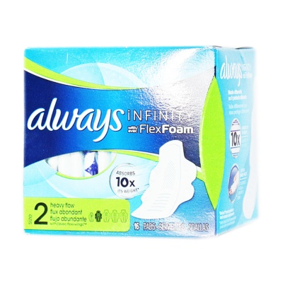 Always Infinity Flex Foam 16p