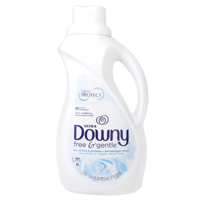Downy Free&Gentle Fabric Softner 1.53L