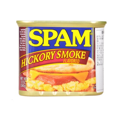 Spam Hickory Smoke Flavored Luncheon Meat 340g