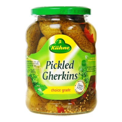 Kiihne-pickled Gherkins 670g