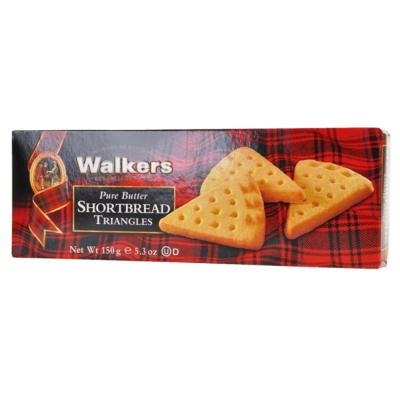 Walkers Pure Butter Triangles 150g