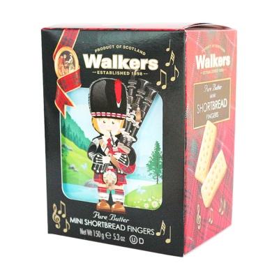 Walkers Mini Butter Shortbread Fingers 150g