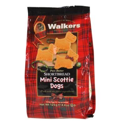 Walkers Mini Scottie Dogs Shortbread 125g