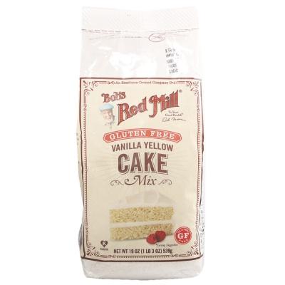 Bob's Red Mill Gluten Free Vanilla Yellow Cake Mix 539g