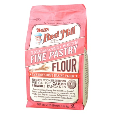 Bob's Red Mill Unbleached White Fine Pastry Flour 2.27kg