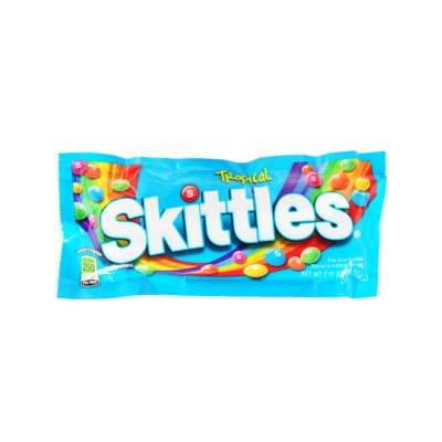 Skittles Bite Size Candies, Tropical 61.5g