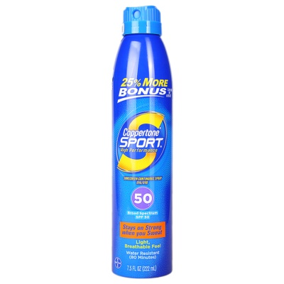 Coppertone Sport Sunscreen Spray SPF50+ 222ml