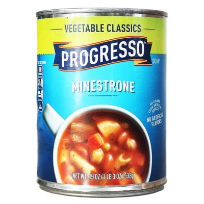 Progresso Vegetable & Minestrone 538g