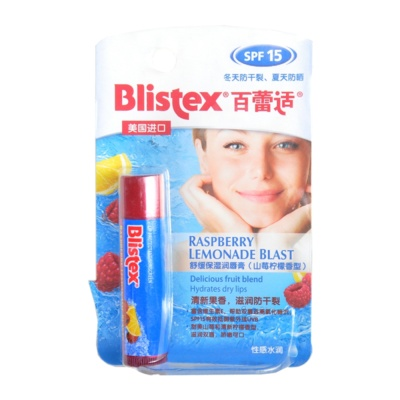 Blistex Raspberry & Lemon Hydrating Lip Balm (SPF15) 4.25g