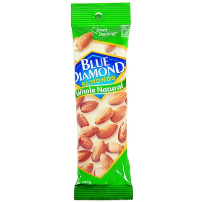 Blue Diamond Whole Natural Almonds 43g