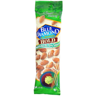 Blue Diamond Bold Wasabi & Soy Sauce Almonds 43g